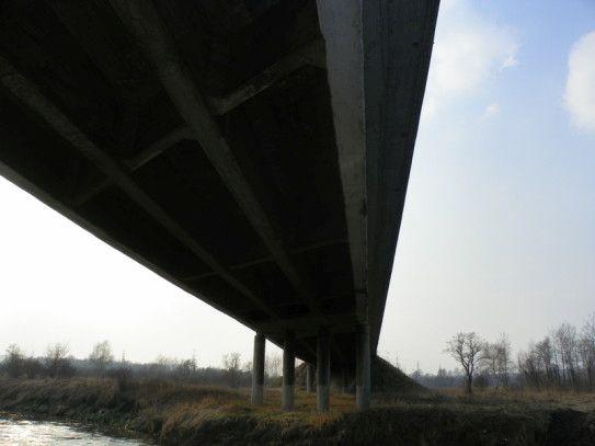 Chełmek - Most na Przemszy - budowa nowego mostu