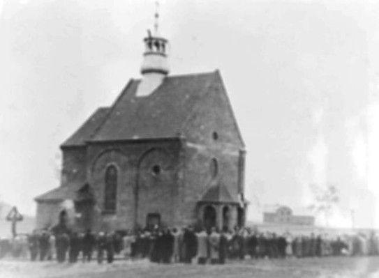 Chełmek - Jak stanął kościół w Chełmku?