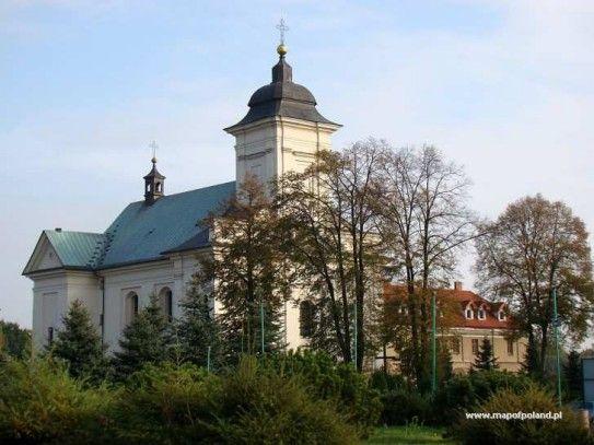 Chełmek - Kościół Przenajświętszej Trójcy - zdjęcia