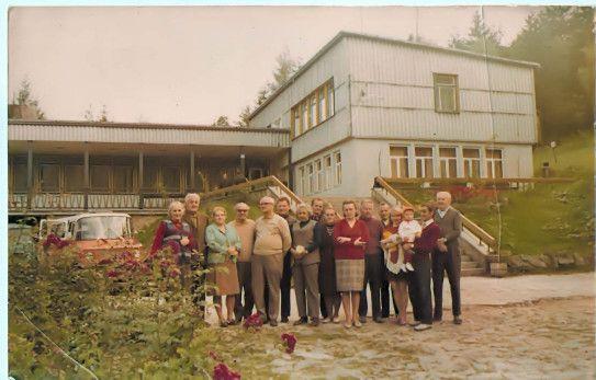 """Chełmek - Ośrodek wypoczynkowy P.Z.S. """"Chełmek"""" w Międzybrodziu"""