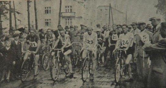 Chełmek - Zawody kolarskie w Chełmku