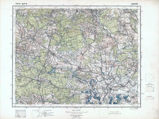 Chełmek - Stare mapy Gminy