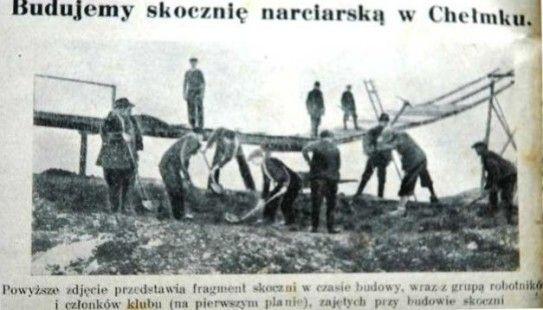 Chełmek - Skocznia narciarska w Chełmku